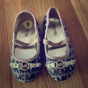 Michael Kors dress shoes for girls